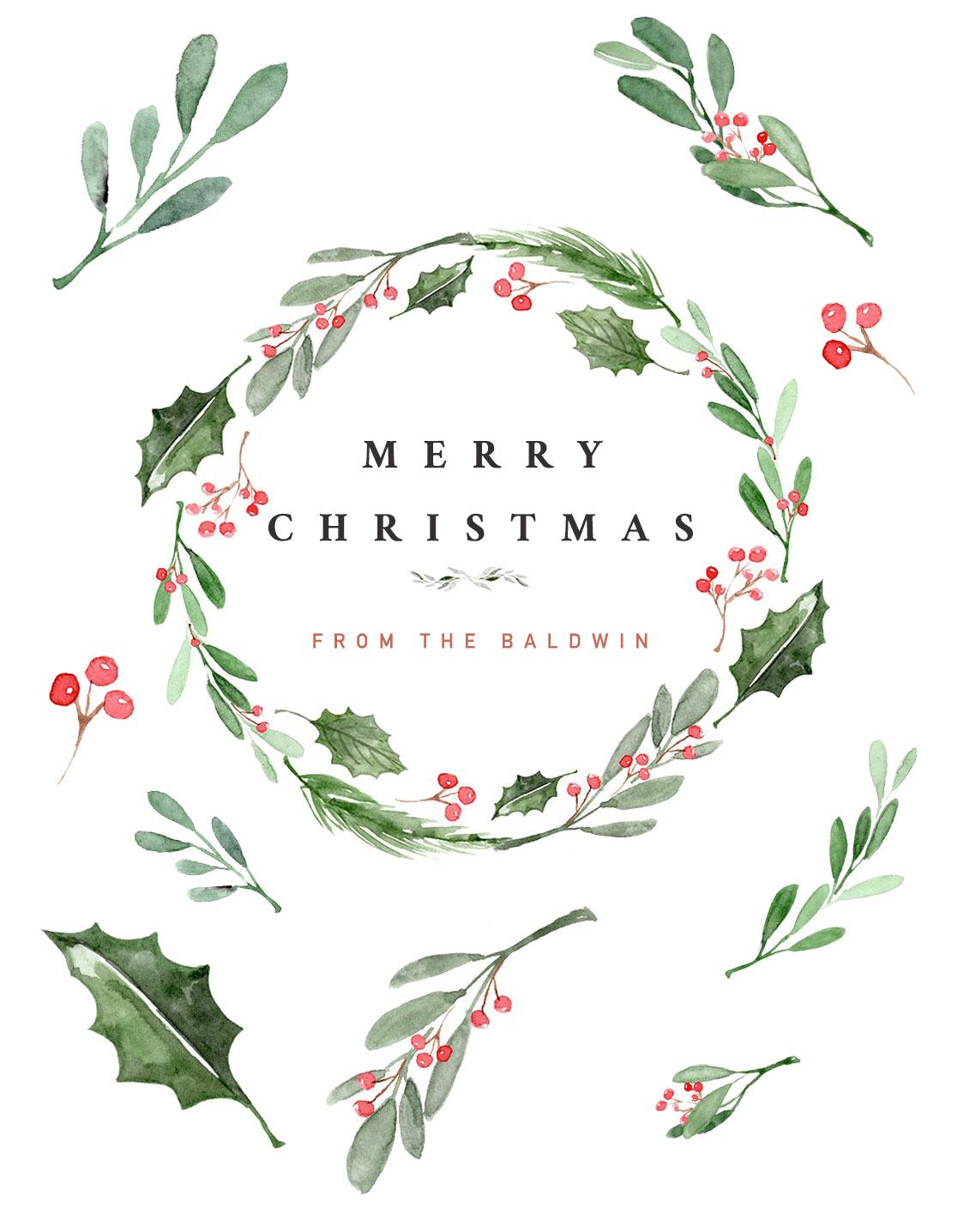 christmas card_Baldwin